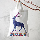 Personalised Christmas Gift Bag