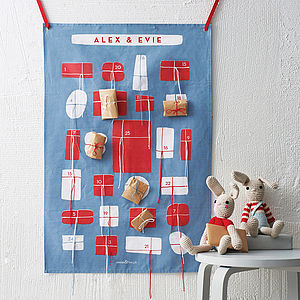 Personalised Advent Calendar - advent calendars & countdowns