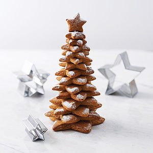 Stamp Your Own Christmas Tree Baking Kit - kitchen accessories