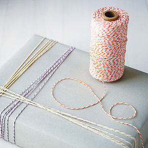 Cotton Bakers Twine - preparing your home for christmas