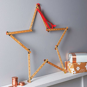 Ruler Star Wreath Kit - wreaths