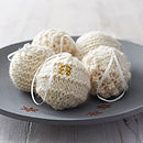 Personalised Cosy Knitted Christmas Bauble