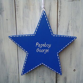 Pageboy Star_ Royal Blue