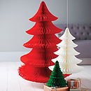 Tissue Paper Luxe Christmas Tree Decoration