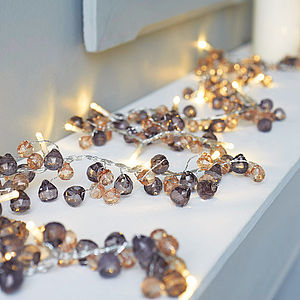 Crystal Led Light Garland - view all gifts for her