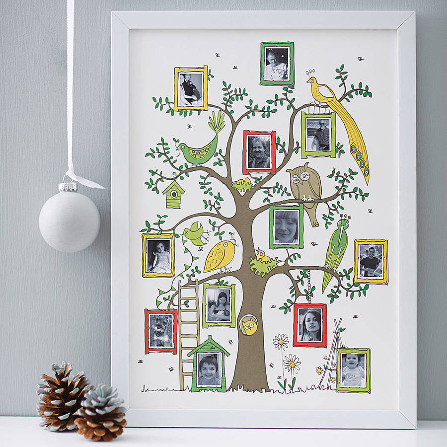 Family Tree Photograph Print By Wikwak