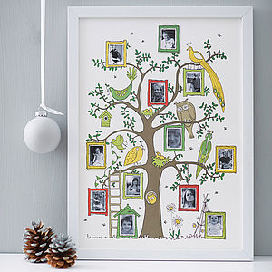 Family Tree Photograph Print - prints for families
