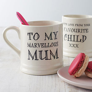 Favourite Child Mug - gifts from younger children