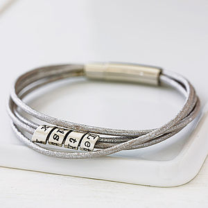 Silver Soho Scroll Bracelet - for your other half