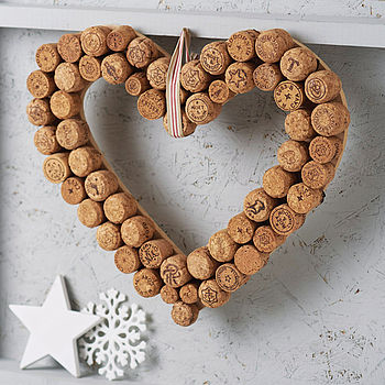 Heart Cork Wreath