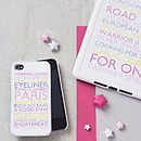 Thumb personalised case for ipad mini