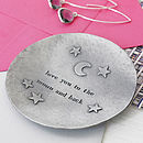 'Moon And Back' Trinket Dish