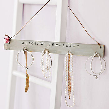 Personalised Jewellery Hook Board