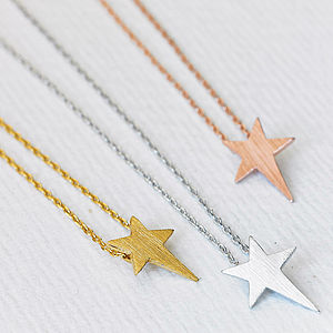 My Star Necklace - gifts under £25 for her