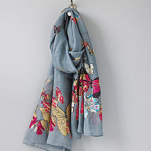 Butterfly Scarf - hats, scarves & gloves