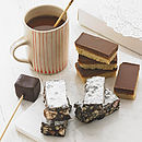Hot Chocolate And Handmade Cakes Gift Box