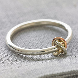 Eternity Knot Ring - women's jewellery