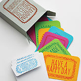 'Random Notes Of Appreciation' Notecards - gifts