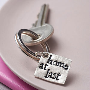 Personalised Three Little Words Keyring - gifts for mothers