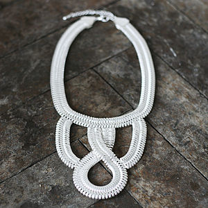 Elissa Bib Necklace - necklaces & pendants