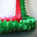 Paper Tissue Christmas Garland Decorations