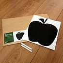 Mini Apple Chalkboard Wall Sticker