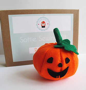 Make Your Own Halloween Pumpkin Sewing Kit