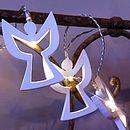 White Angel LED Battery Powered Fairy Lights