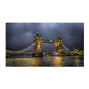 Tower Bridge, London Print - cityscapes & urban art