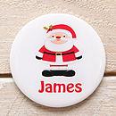 santa badge