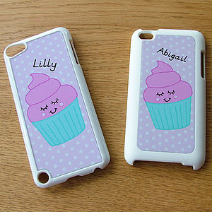 Personalised Cupcake iPod Touch Case
