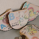 Personalised Alphabet Handmade Purse
