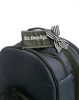 Mrs Always Right Luggage Tag