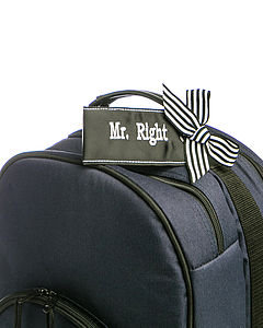 Mr Right Luggage Tag - men's accessories