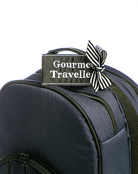'Gourmet Traveller' Luggage Tag