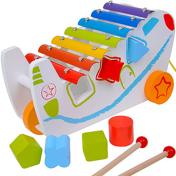 Pull Along Shape Sorter With Xylophone