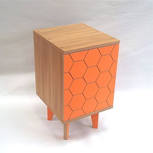Single Honeycomb Cabinet - furniture