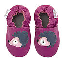 Miss Hedgehog Leather Baby Shoes