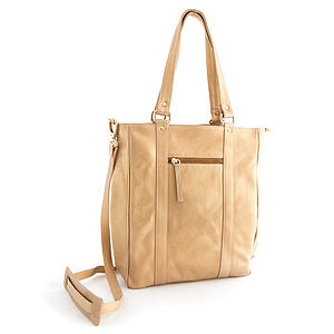 Leather Tote - bags & purses