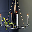 Quinby Candle Chandelier