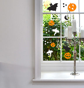 Halloween Mini Sticker Decorations - party decorations