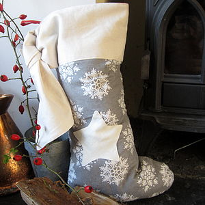 Personalised Scandinavian Christmas Stocking - stockings & sacks