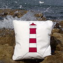Lighthouse Sailcloth Cushion
