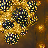 Grand Maroq Silver String Lights - christmas decorations