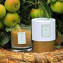 Rose And Geranium Beeswax Candle