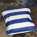 St Ives Sailcloth Cushion