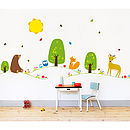 Farm Or Forest Nursery Wall Stickers