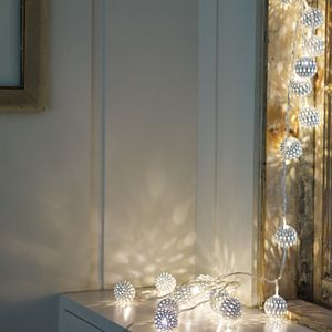 Grand Maroq Blanco String Lights - lights & candles