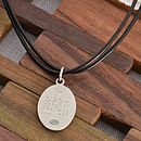 Personalised Men's St Christopher Necklet