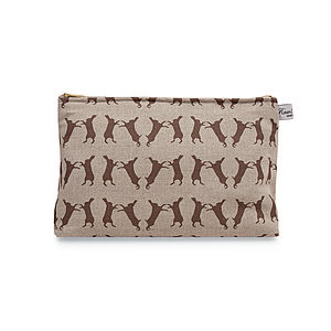 Boxing Hare Classic Wash Bag - bags & purses